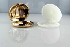Cromado-de-plastico-Perfumería-cosmética-Polvera